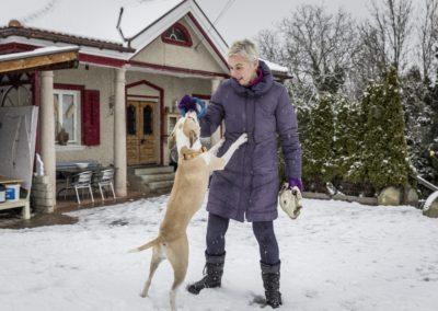 Sandra Hax, Tierheim mit Kaninchen, Katzen und Hunden